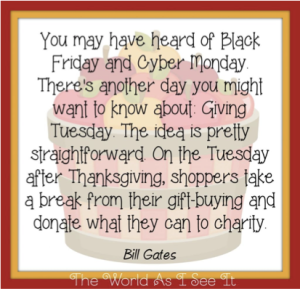 Giving Tuesday Quote