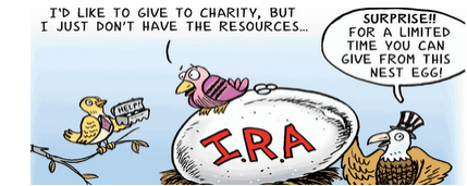 IRA Rollover Cartoon