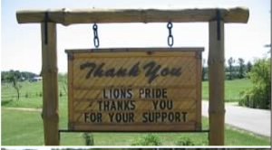 Lions Pride Thank You