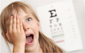 Kids National Eye Exam Month