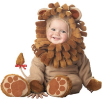 Childrens Lion Costume