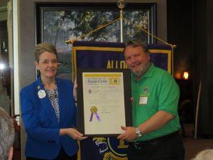 Allouez Lions Club Official Charter