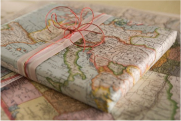 map-wrapping