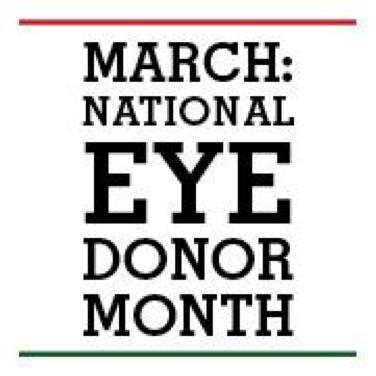 Natl Eye Donor Month