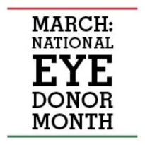 Natl Eye Donor Month