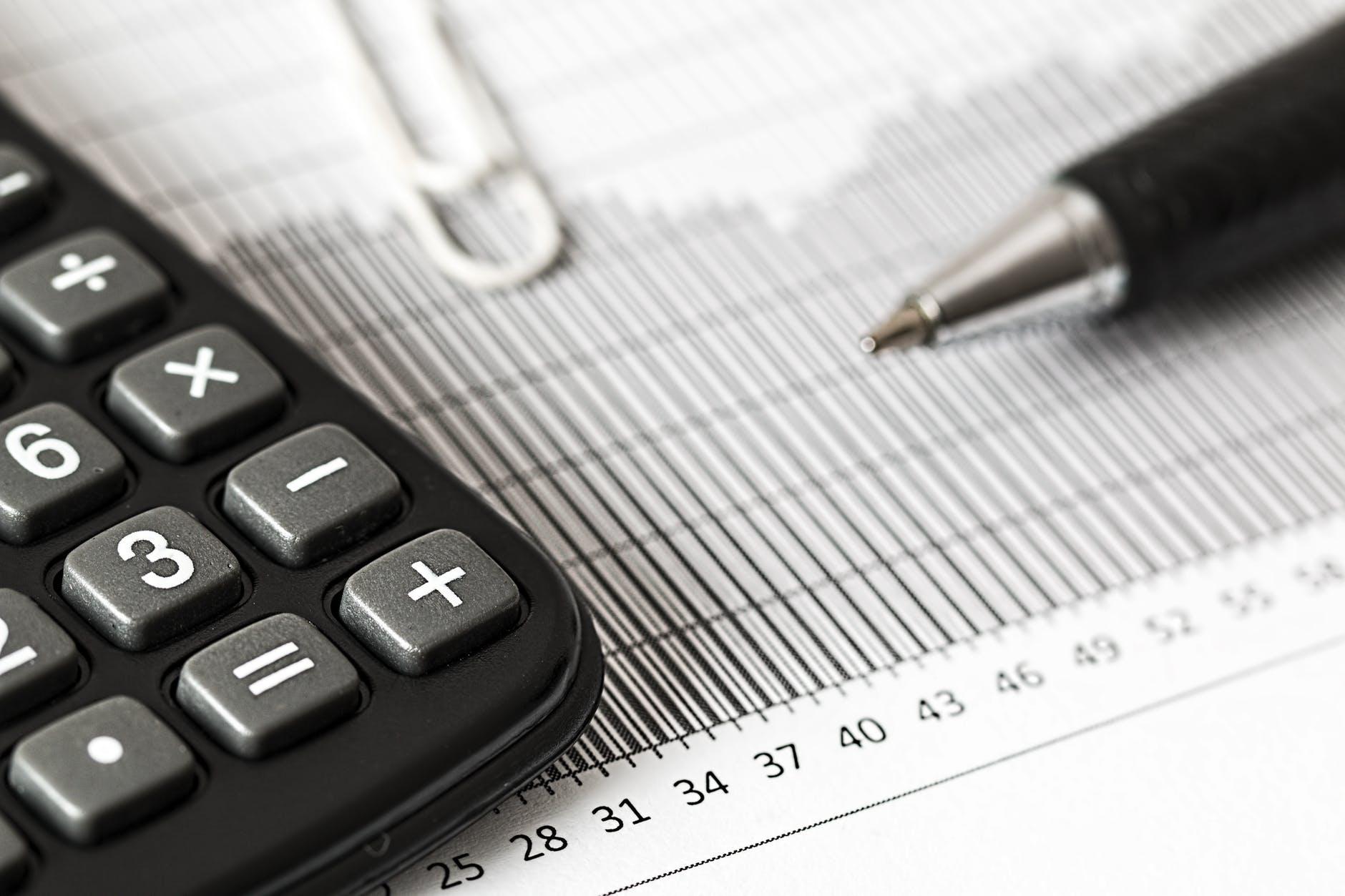 accounting analytics balance black and white